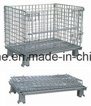Steel Bulk Storage Container/Wire Basket