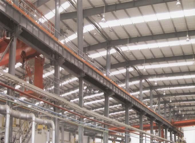 Prefabricated Galvanization Light Steel Structure Building404