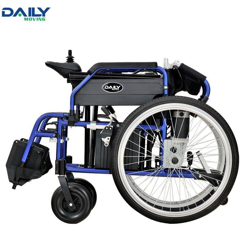 "24"" Big Drive Wheels Folding Electric Power Wheelchair Dp603"