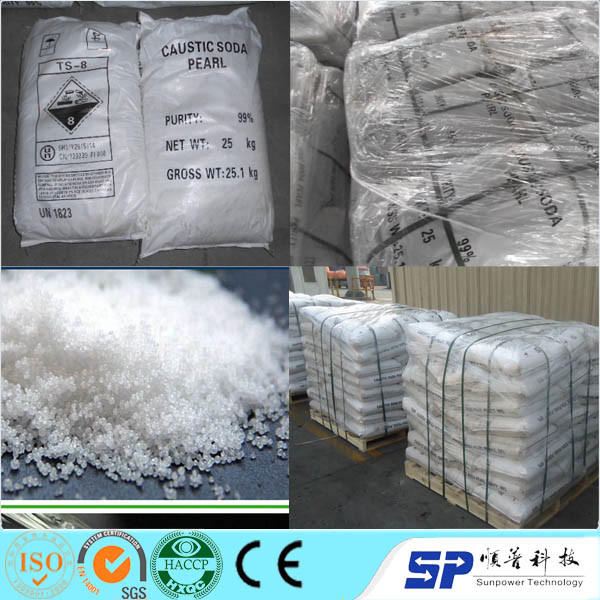 Factory Supply SGS 99% Caustic Soda (sodium hydroxide)