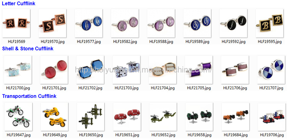 Quality Mens Clothing Accessories French Shirts Cufflinks
