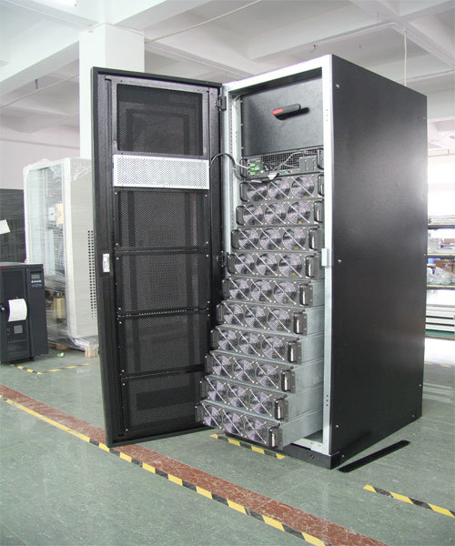 Modular UPS Mps9335 10kVA-300kVA Pf=0.9 Onduleur Modular UPS with 12 Can Display Languages