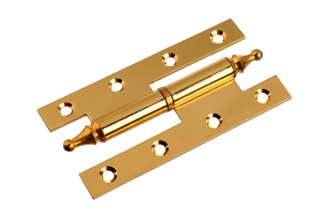 Competitive Polished Brass Plated Duty Hinge (SH-015)