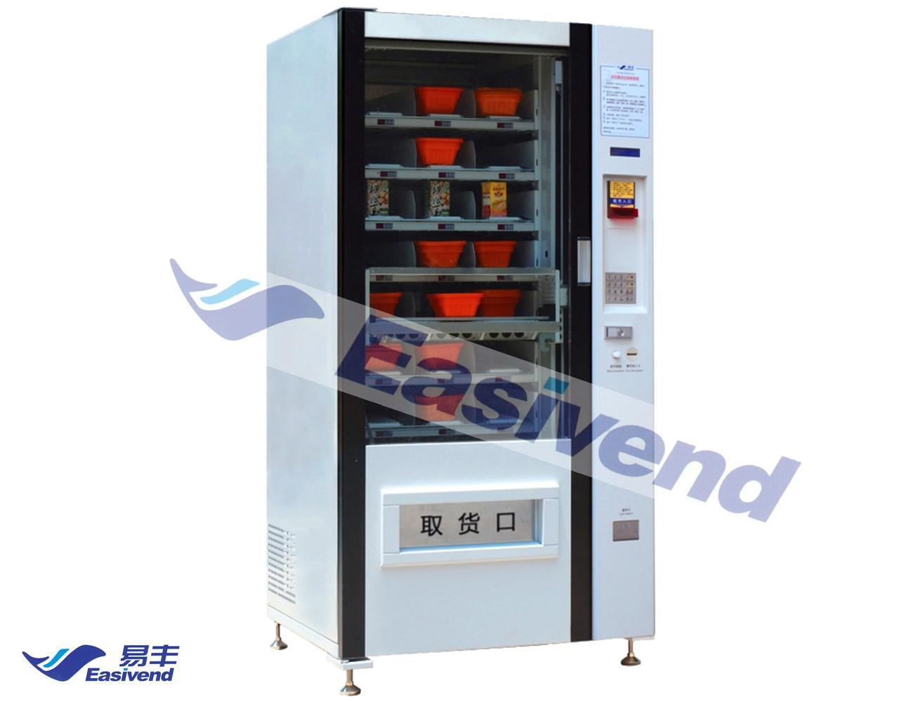 Food and Fruit Vending Machine