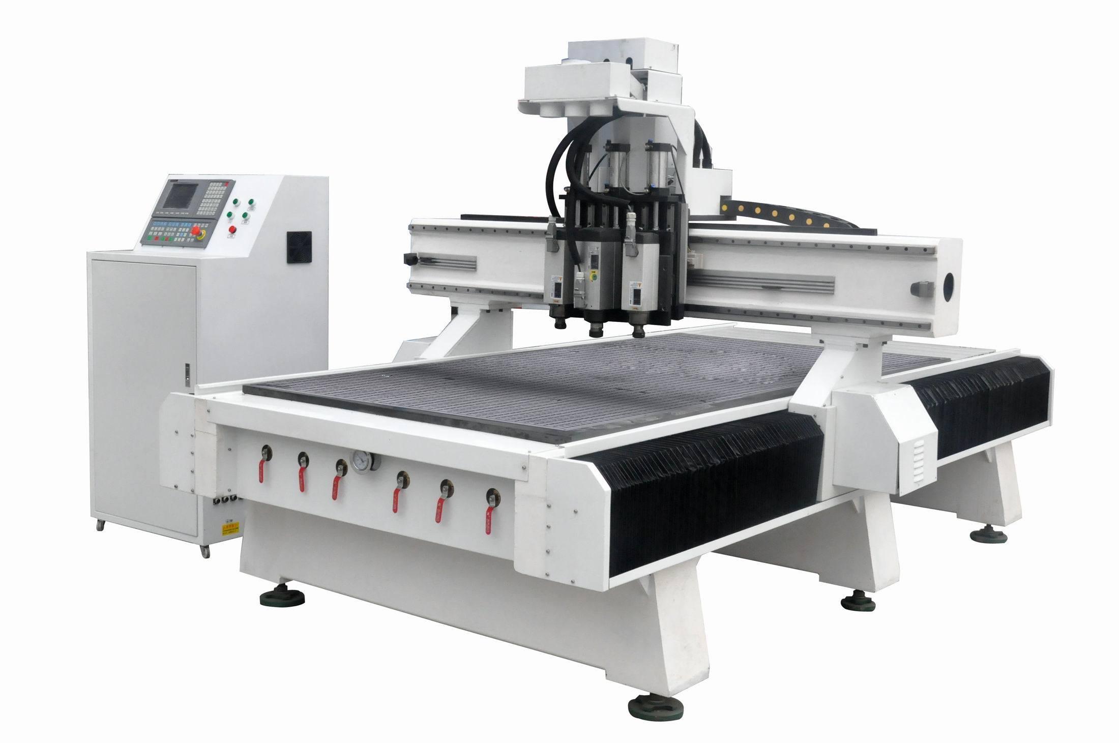 Three Head Atc CNC Machine