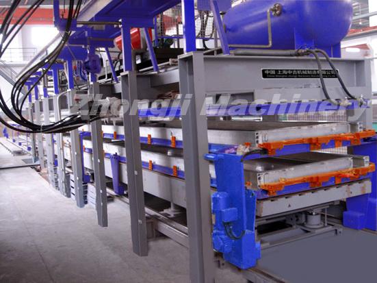 Zhongji EPS, Rock Wool Sandwich Panel Machine