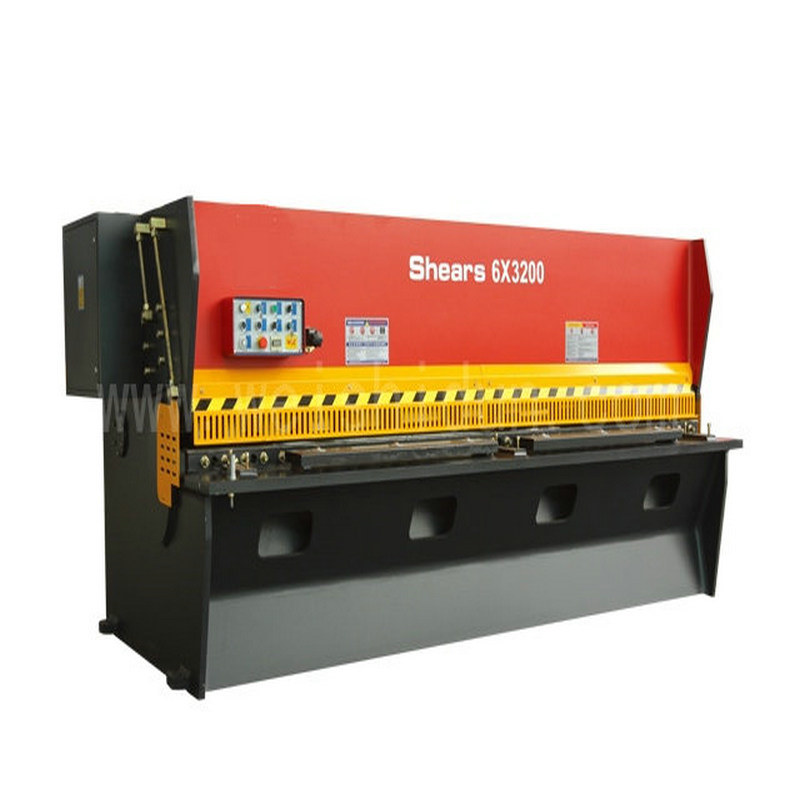 QC11k 6*3200 Hydraulic Guillotine Shearing Machine