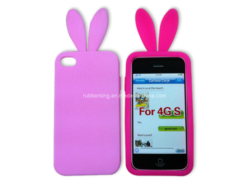 Silicone Case for iPhone4/4s, iPhone5