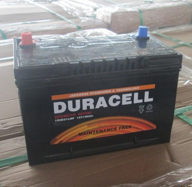 OEM Cheap 12V N100ah Auto Truck Car Mf Battery
