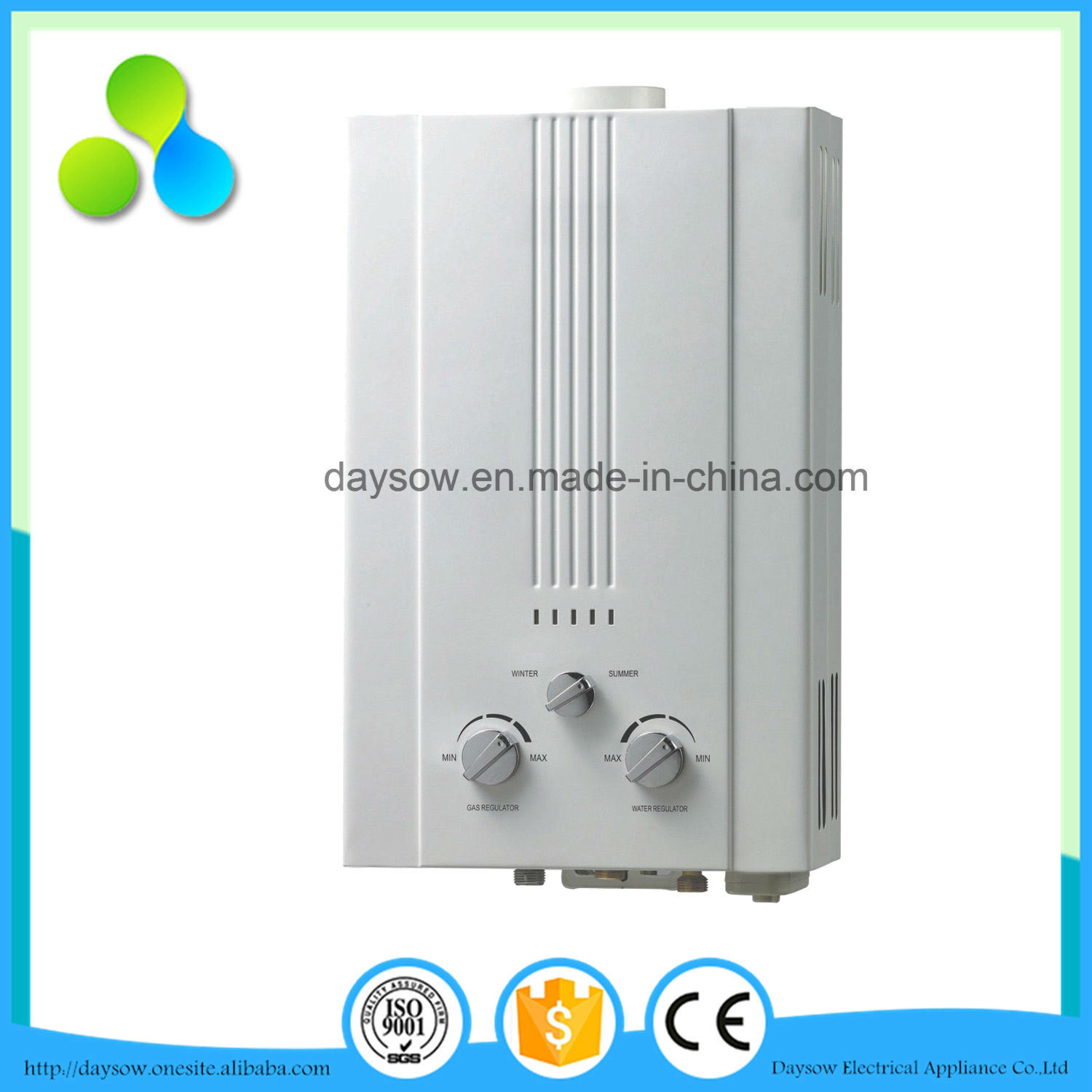 2016 New Model Instant Gas Water Heater 16 LTR Gas Water Heater