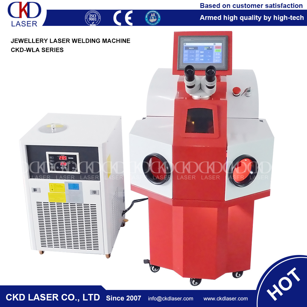 New Type Laser Spot Welding System for Jewelry