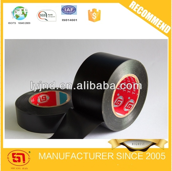 Hot Sale Black PVC Electrical Adhesive Tape