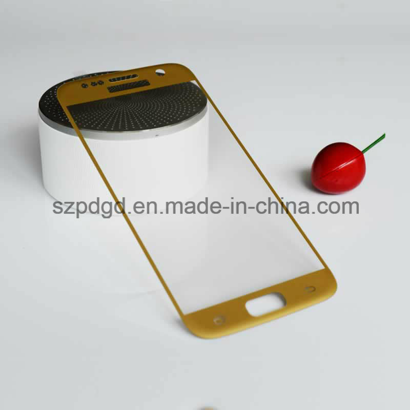 3D 9h Curved Edge Tempered Glass Screen Protective Film Mobile Phone Cover Guard for Samsung S7