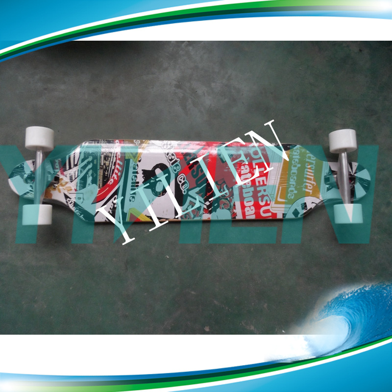 High Quality 42′′ Longboard Skateboard Maple Skateboards