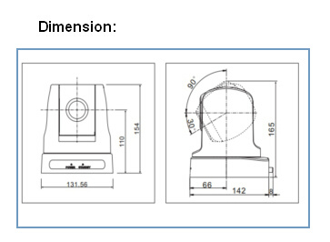 10xoptical Sdi HDMI Output HD Video Conferencing Camera (OHD10S)