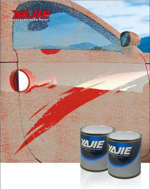 Easy to Apply Acrylic Paint 1k Car Plastic Primer