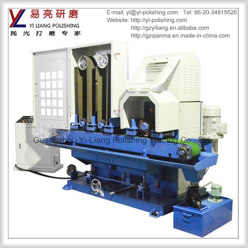 Conveyor Abrasive Belt Water Grinding Machine for Metal Sheet Sanding