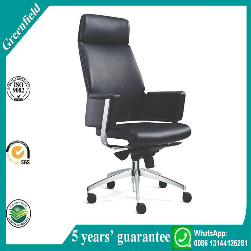 Comfortable High Back Leather Office Chair