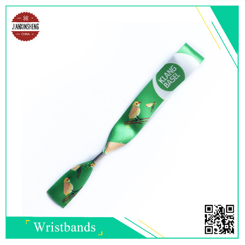 Fashionable Satin Sublimation Wristband for Party