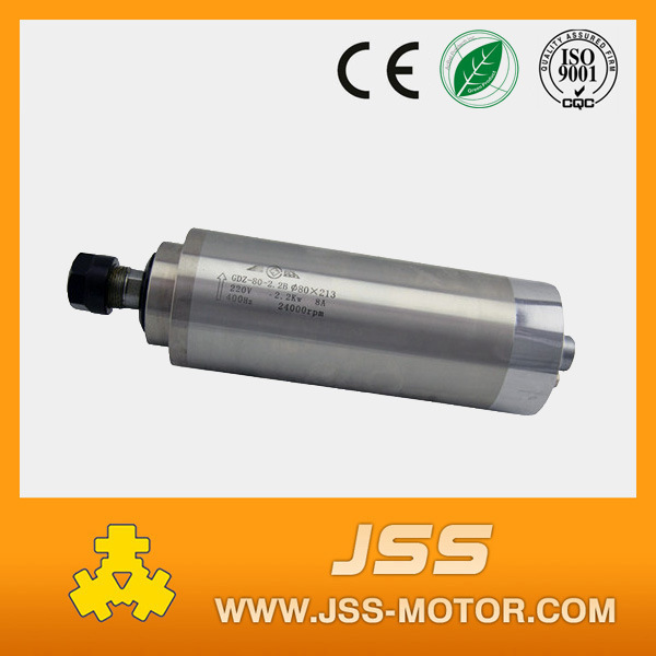 2.2kw Water Cooling AC Spindle Motor for CNC