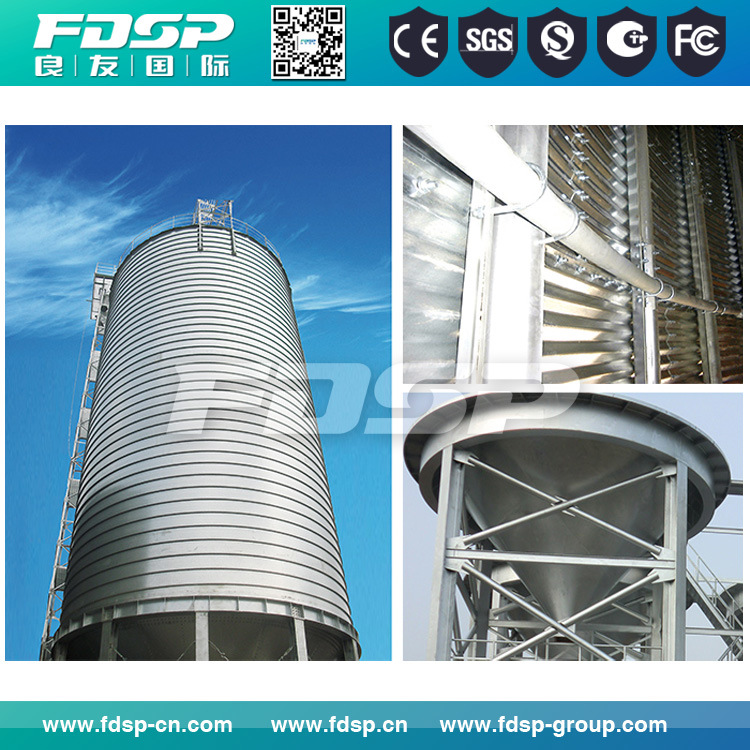 Professional Design 10000 Ton Stainless Steel Silo