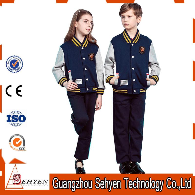 Custom Primary School Uniform Designs for School Track Suits