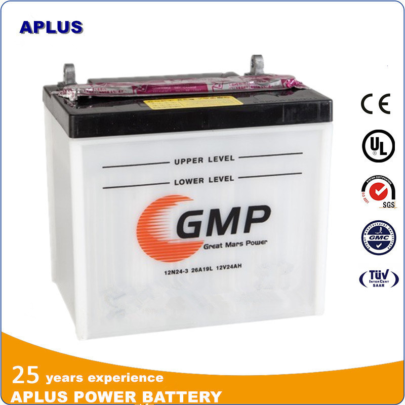 French Market Hot Sale Model 12n24-3A 12V24ah Batterie De Tondeuse