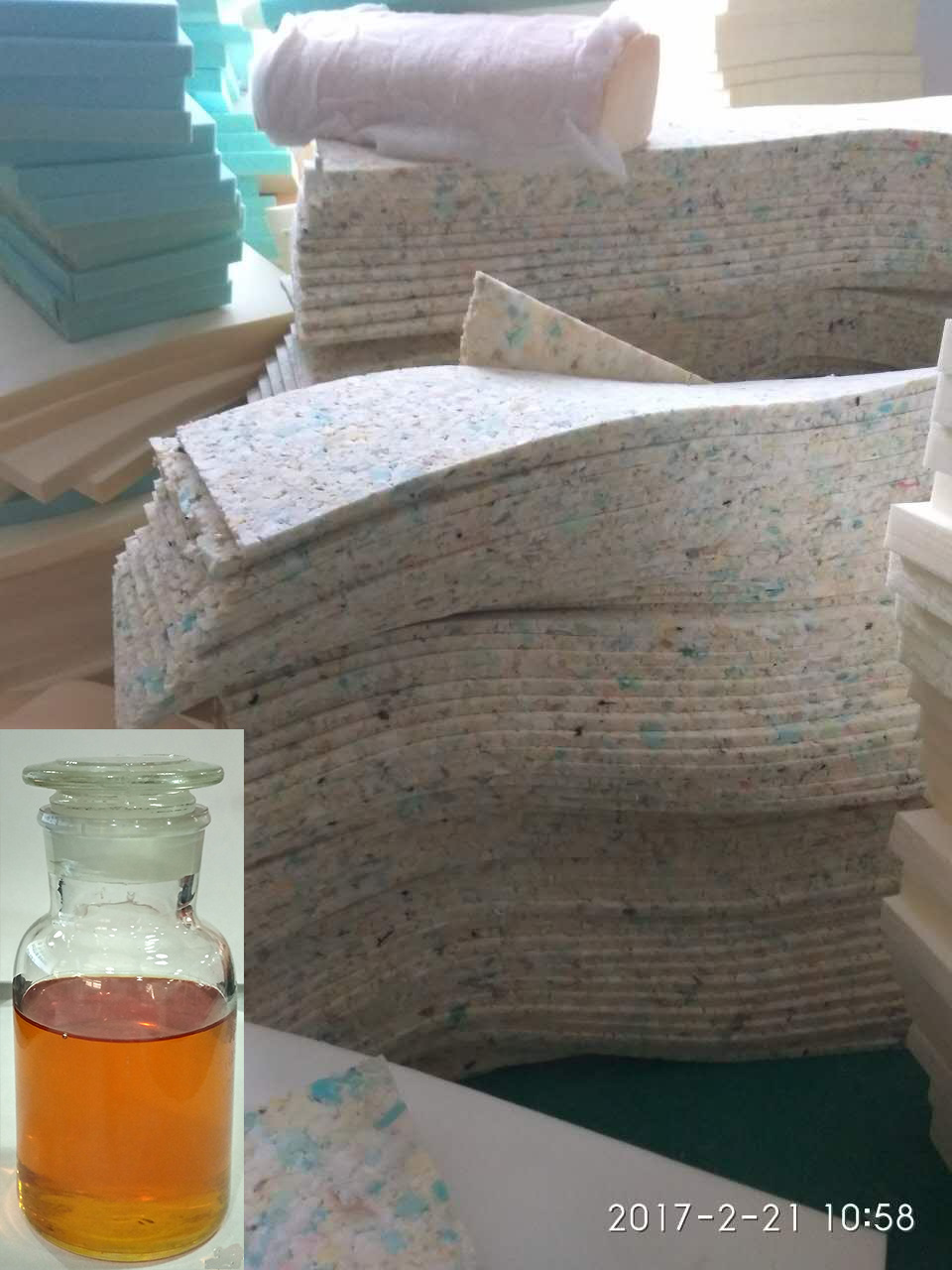 Raw Material Dry Preservation Liquid Foam PU Material Glue