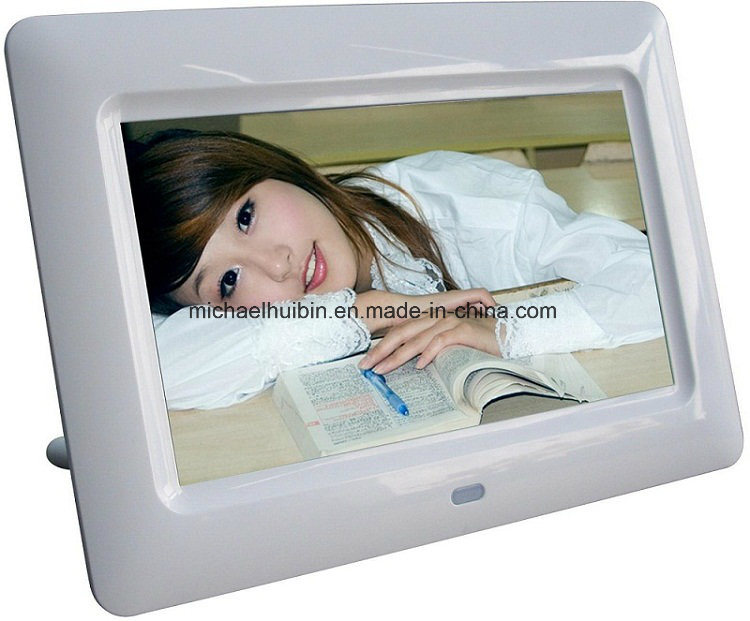 Cheap 7 Inch TFT LCD Monitor Digital Picture Frame (HB-DPF703A)