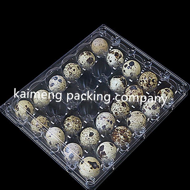 30cells Eggs Clear Plastic Quail Egg Trays (plastic quail egg tray)