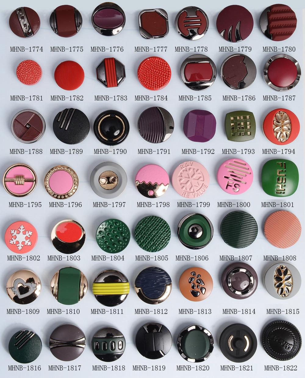 Fashion Zinc Alloy Snap Button