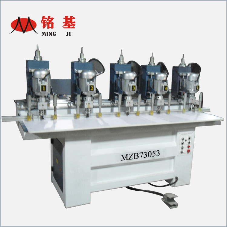 Multi Heads Woodworking Hinge Drilling Machine