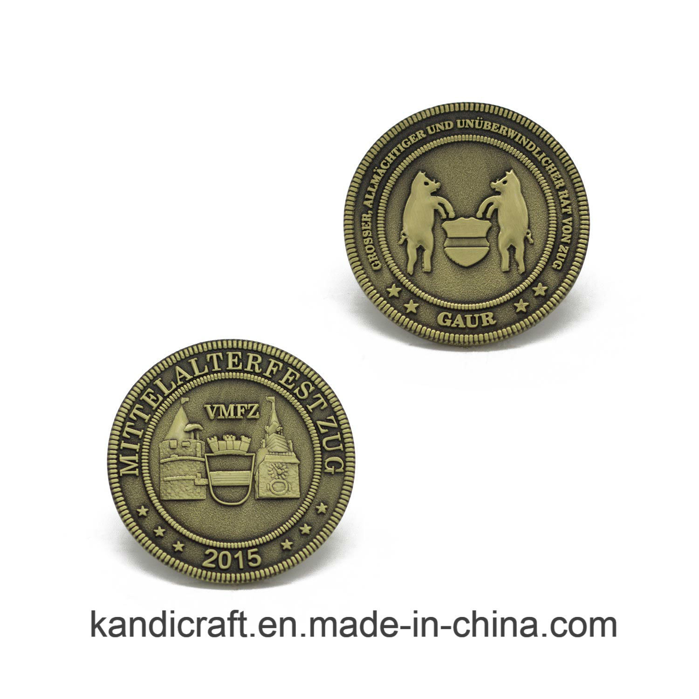 Wholesale ODM Precision Metal Souvenir Coin