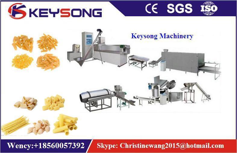 Automatci Italy Pasta Machinery, Macaroni Processing Line