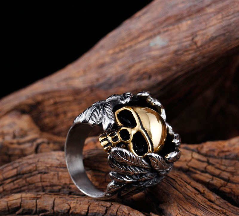 Titanium Stainless Steel Fashion Designer Man Rings Jewelry