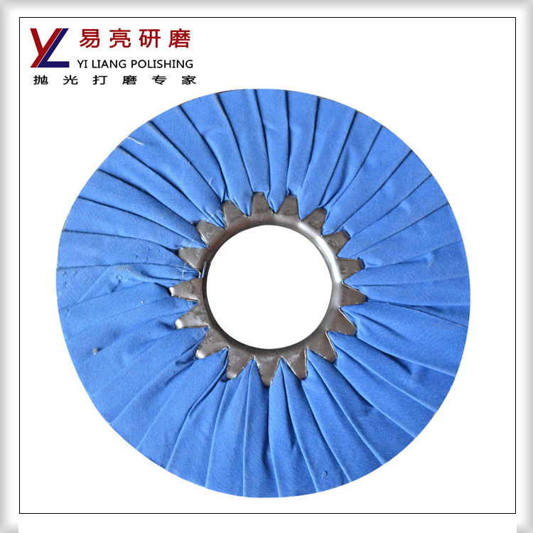 Yiliang Stainless Steel Pleated Airway Buffing Wheel