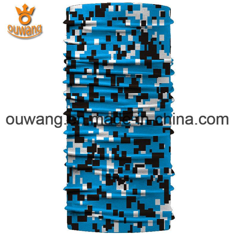 Promotional Sportswear Magic Cool Polyester Custom Printed Scarf