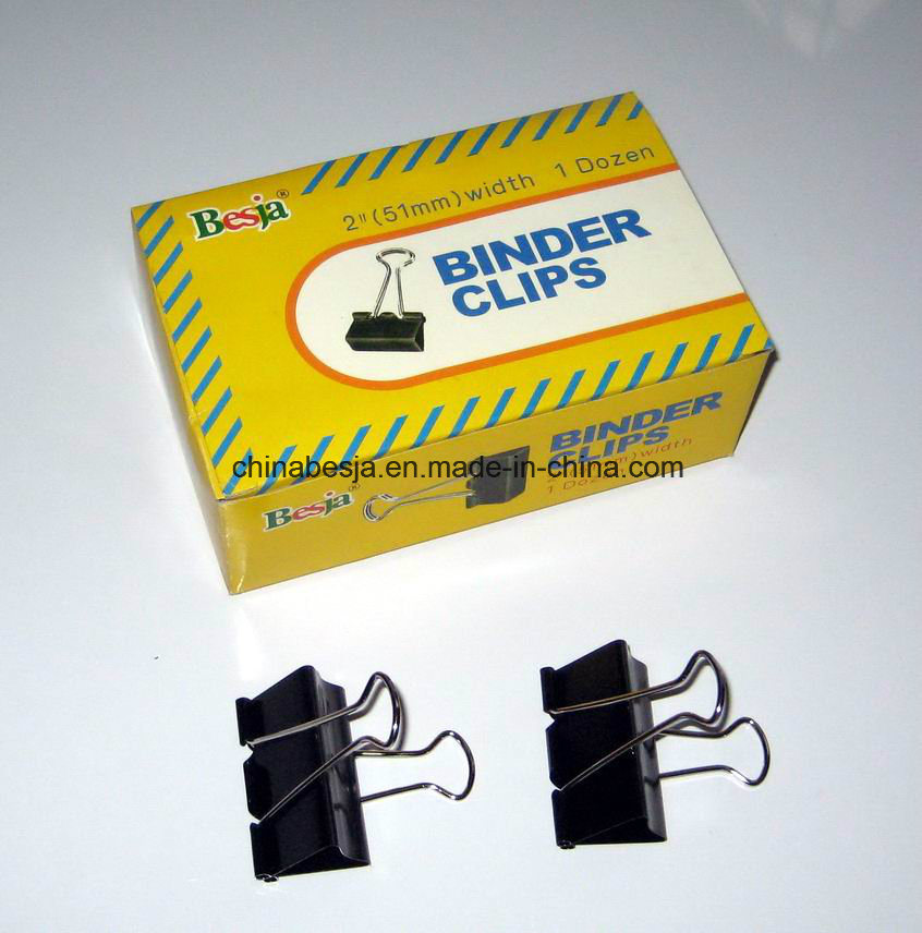 51mm Black Binder Clips (1001)