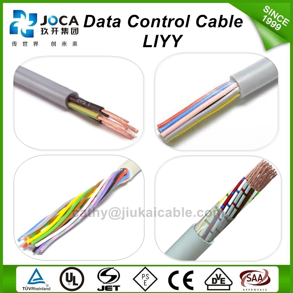 China Manufacturer Flexible Liyy 10*0.14mm2 Data Communication Cable