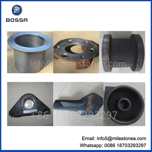 Customized Sand Die Casting Iron Construction Machinery Spare Parts