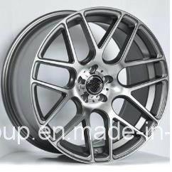 F9822 V W Gti Black Machine Face 16X7 17X7.5 Car Alloy Wheel Rims