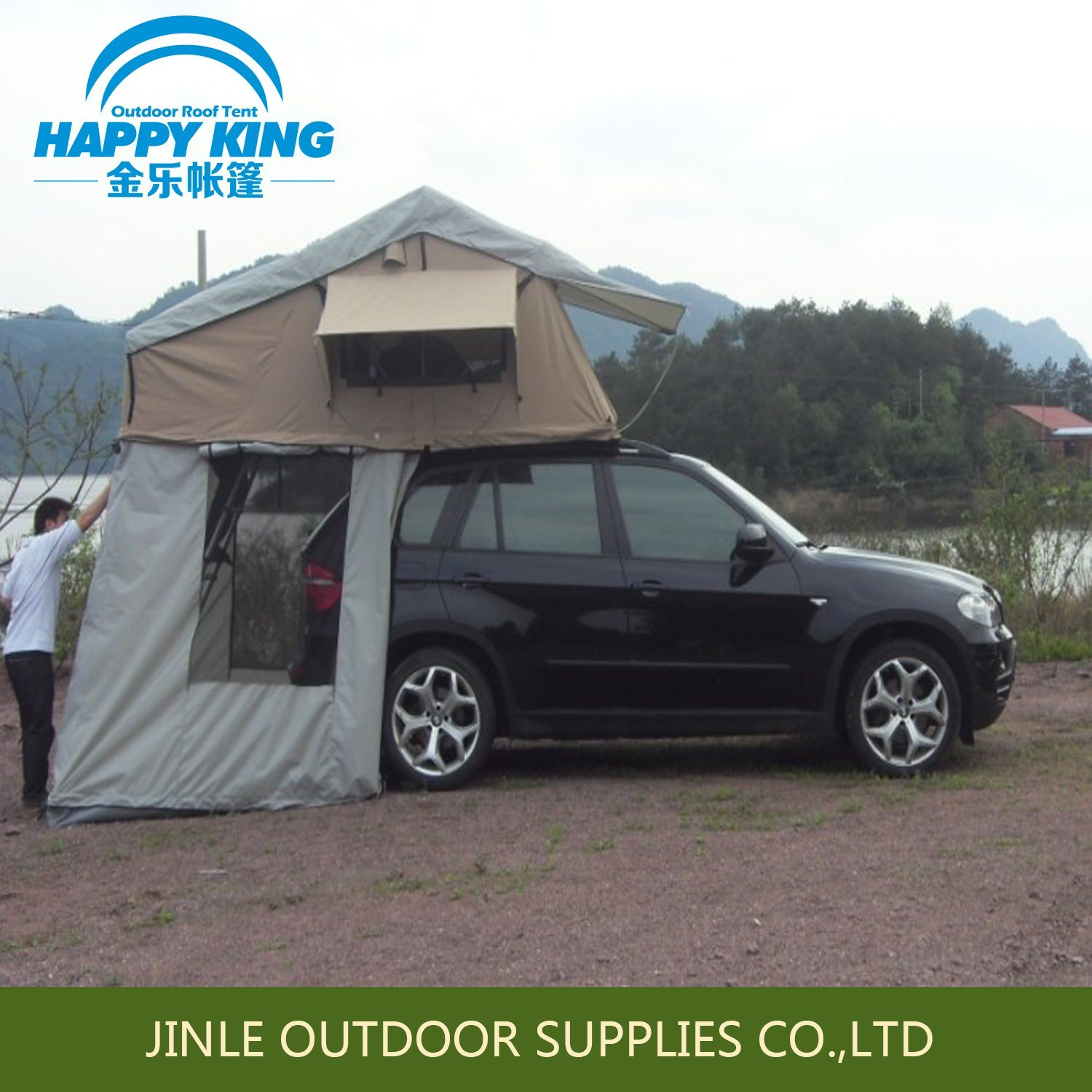 Practical Camping Car Roof Top Tent Round Tent House