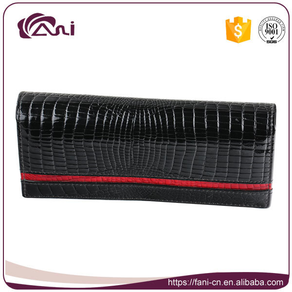 Fani High Quality Delicate Crocodile Wallet, Women Money Bag, Purse Wallet Genuine Leather