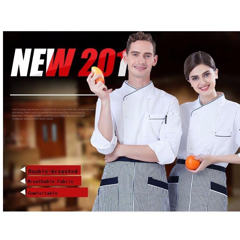 High Grade Manufacturer Work Design Chef Uniform with Cotton