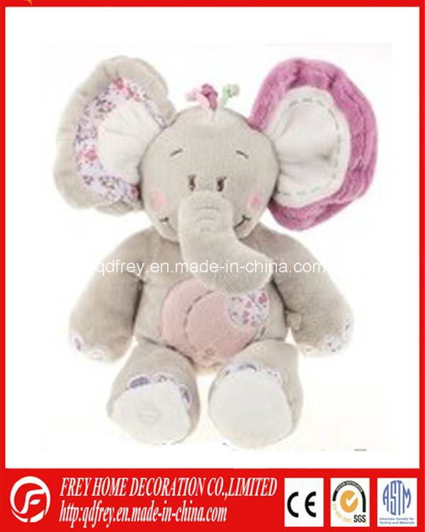 Hot Sale Plush Elephant Toy with Big Ear