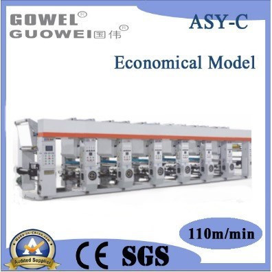 Asy-C Economical Medium-Speed Gravure Printing Machine 110m/Min