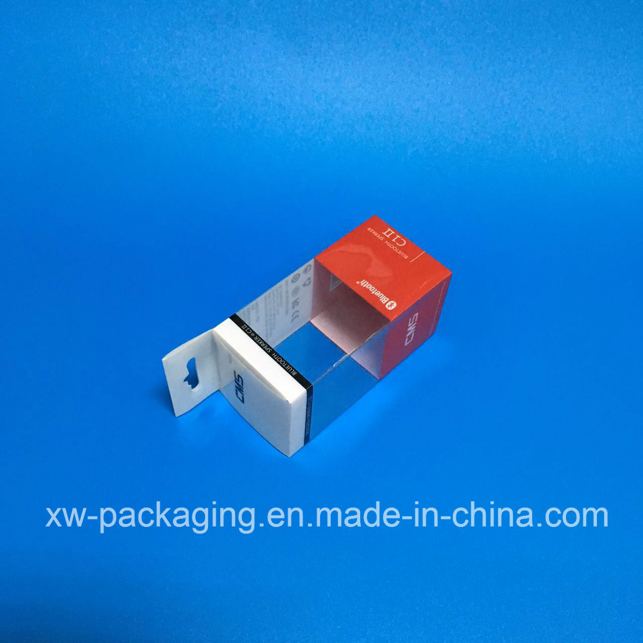 Plastic Folding Box for Electronic Blister Package