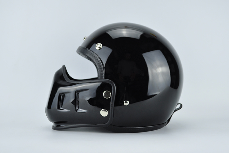 Half Face Helmet with Under Part