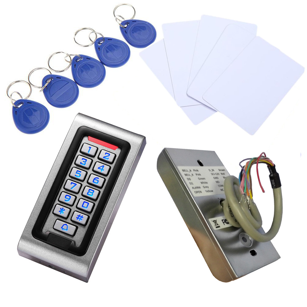 IP68 Waterproof Standalone Access Control with Em Card 125kHz / 13.56 MHz Reading Card