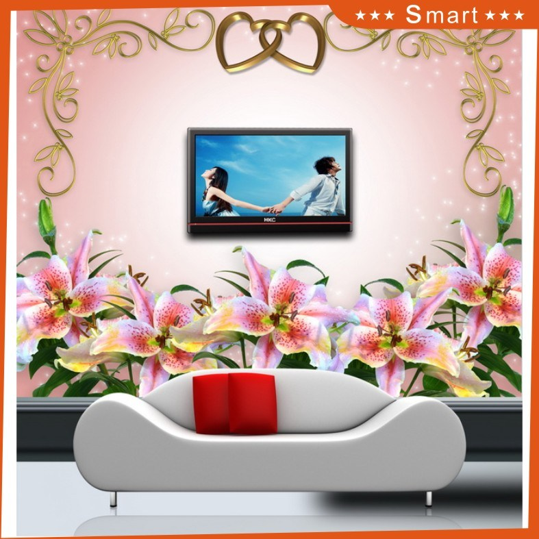 Hot Sales Customized Flower Design 3D Oil Painting for Home Decoration (Model No.: Hx-5-039)